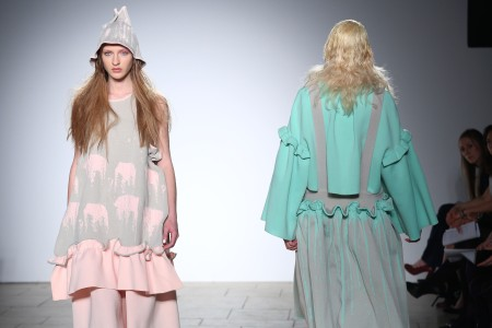 London College of Fashion MA  Womenswear show