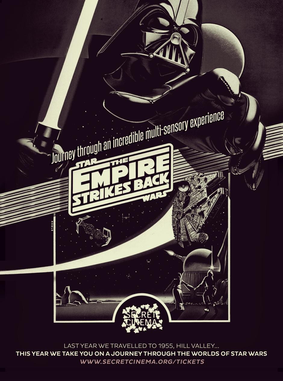 POSTER Secret Cinema Presents Star Wars The Empire Strikes Back 280x206 HiRes