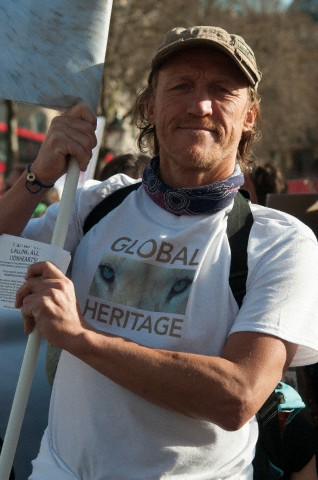 Jerome Flynn, who plays Bronn in HBO's 'Game of Thrones' supports the Ngala documentary. Image by © Terry Scott/Demotix/Corbis