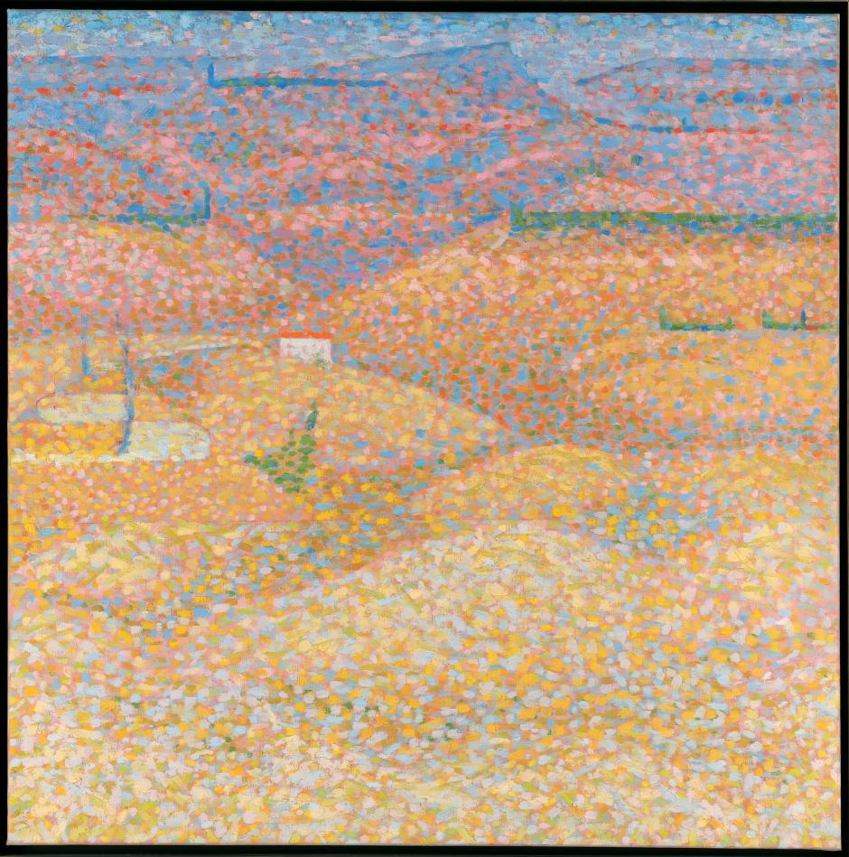 Bridget-Riley-Pink-Landscape