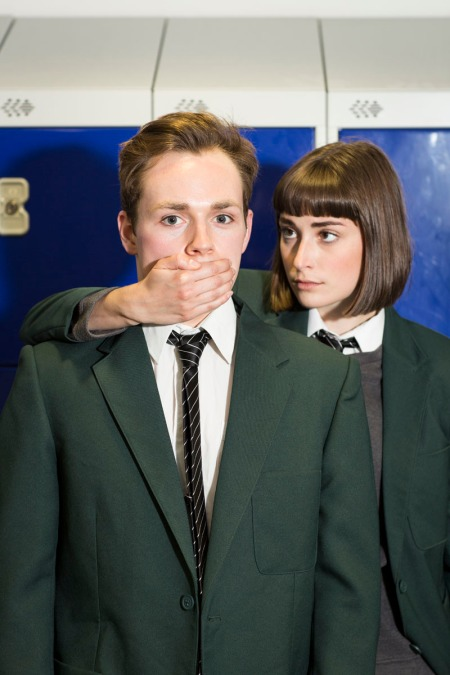 The National Youth Theatre presents Consensual by Evan Placey at the Ambassadors Theatre Photo by Helen Maybanks (1)