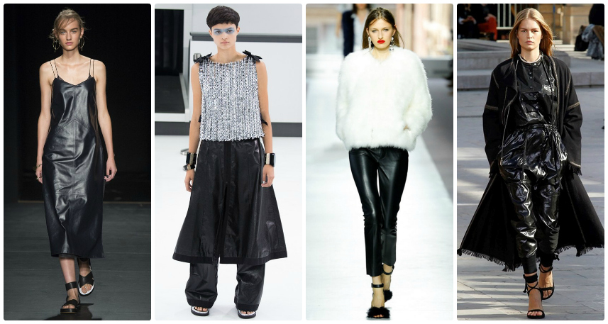 SS16 Trends Guide: Black Leather