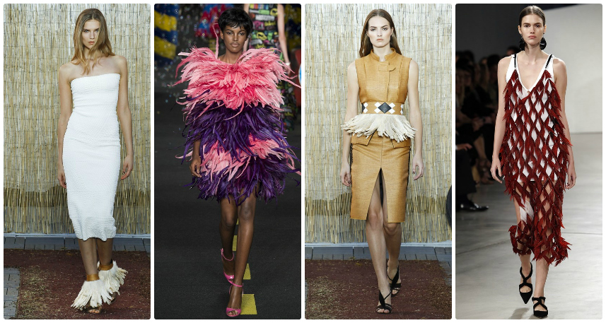 SS16 Trend Guide: Feathers