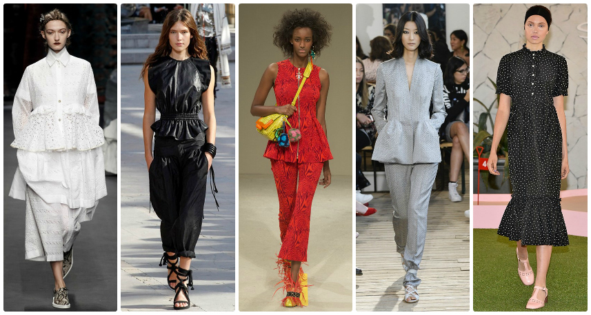 SS16 Trend Guide: The Peplum