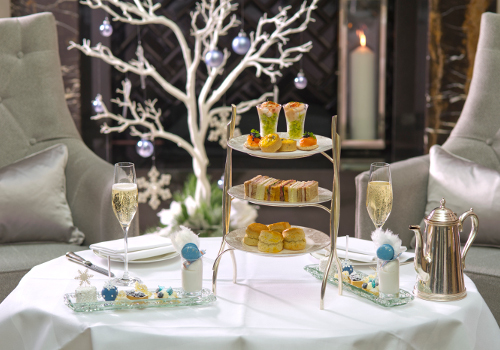 Snow Queen Afternoon Tea at Conrad London St. James