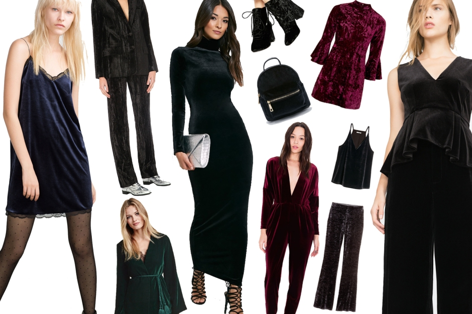 Trend Edit- Velvet Party Wear